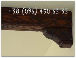 Балки деревянные декоративные. Фальшбалки. Балки (полки) на камин.