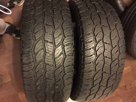 265 60 R18 Cooper Discovery Tyres