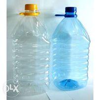 Тара ПЭТ Бутылка емкость баклашка 5л- 6,8 грн в сборе ,2л,1,5л,1л, 0.5