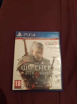 Ps4 Game 'The Witcher Wild Hunt'