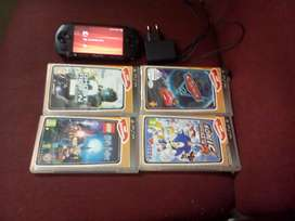 Pre owned PSP. Console   4 games