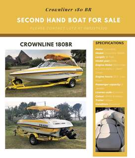 Second hand boat for sale