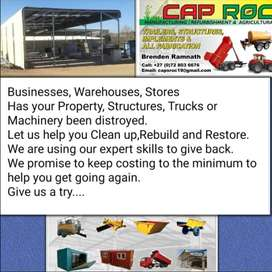 Business, Warehouses, Shops, was your Property or Vehicles