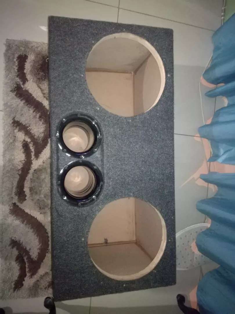 Double 12 inch subwoofer 0