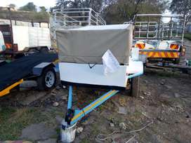 I'm selling a home make trailer