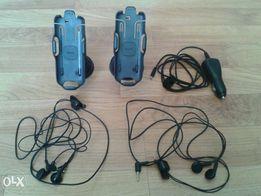 Samochodowy uchwyt do telefonu firmy Nokia oraz ładowarka. NOWE!