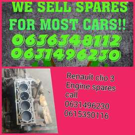 Renault clio 3 engine spares available