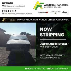 Now breaking Jeep Grand Cherokee WJ 1999 - 2005 for parts!
