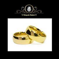 Piękne Złote Obrączki Ślubne - Symbol Miłości i Wierności