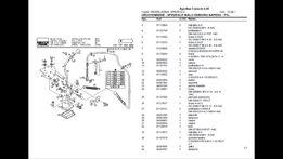 Katalog części Deutz Fahr DX, Agrostar, Agrotron Nowe Kompletne po PL