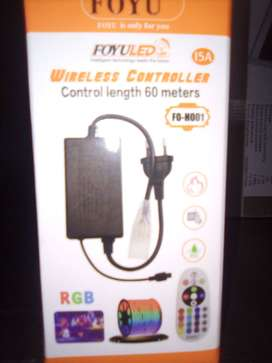 DC12-24V WL5 5 in 1 RGB+CCT Color Changing LED Controller, Wireless Sy