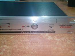 Контроллер включения питания SVEN PS-030A в рековую стойку новый