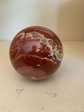 Red Marbled Ball