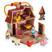 Игровой набор мини аниматор Белль в домике с аксессуарами Дисней