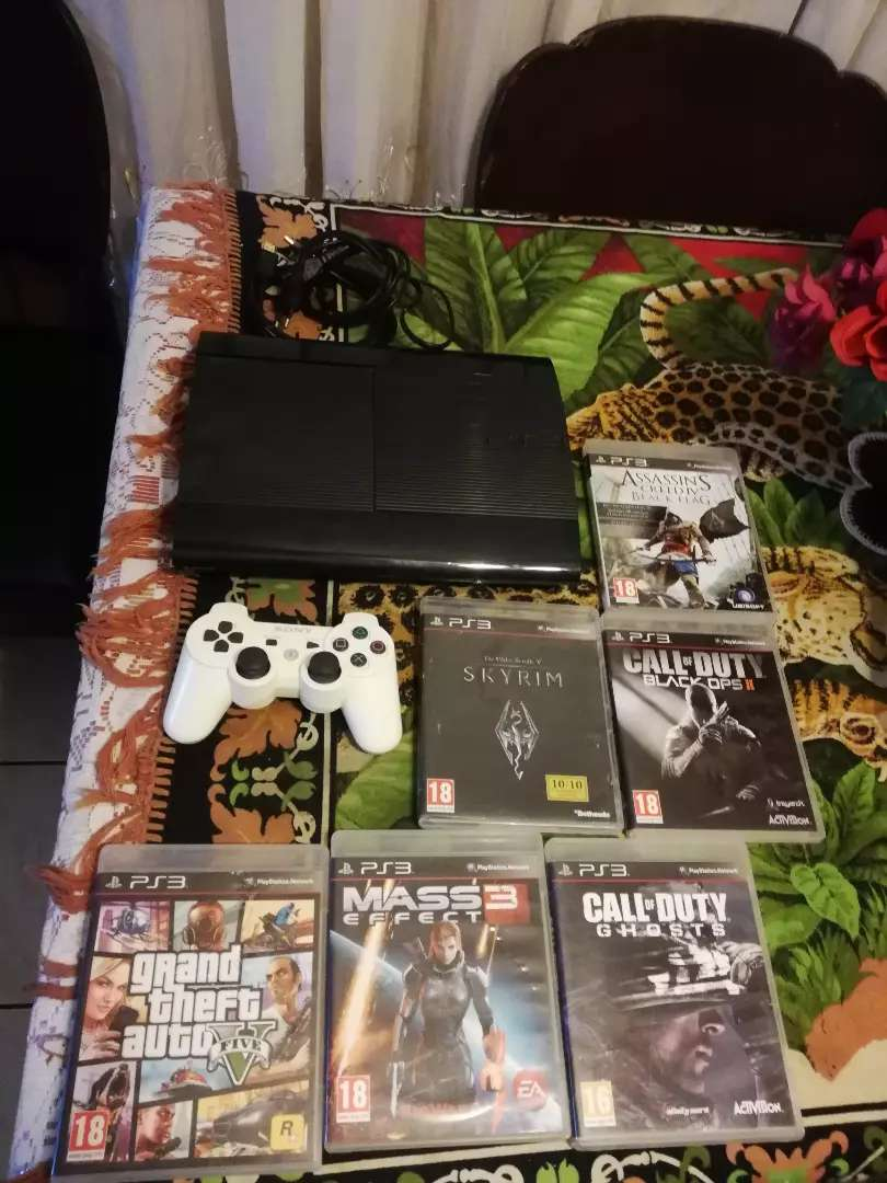 Playstation 3 consoles with games 0
