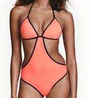 Bikini strój kąpielowy jednoczęściowy hm rozmiar 34 jak nowy