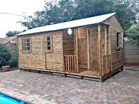 Good wooden house for sales