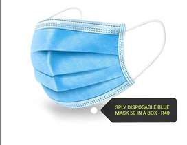 3 ply disposable masks