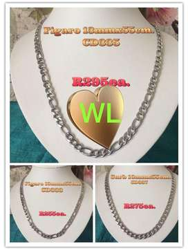 Thick Men's Stainless Neck & Hand chain.