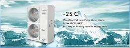 Тепловий насос повітря-вода EcoLineDCI 12кВт Краща Ціна!