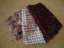 отрез ткани шелк искусственный, 6 метров за всё 150 рублей