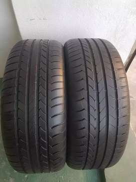 255/45/20 Goodyear runflat tyres for sell