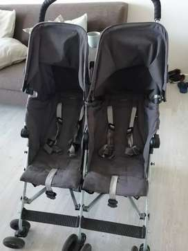Twin Maclaren pram for sale