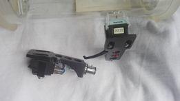 2 komplety wkładek gramofonowych Shure SC35C + 2 uchwyty/headshelle