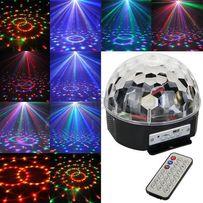 Диско шар Magic Ball Light MP3, флешкой и пультом