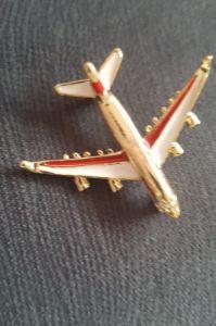 подарок мужчине самолет брошь брошка модель авиалайнера новый значок Днепр - изображение 3