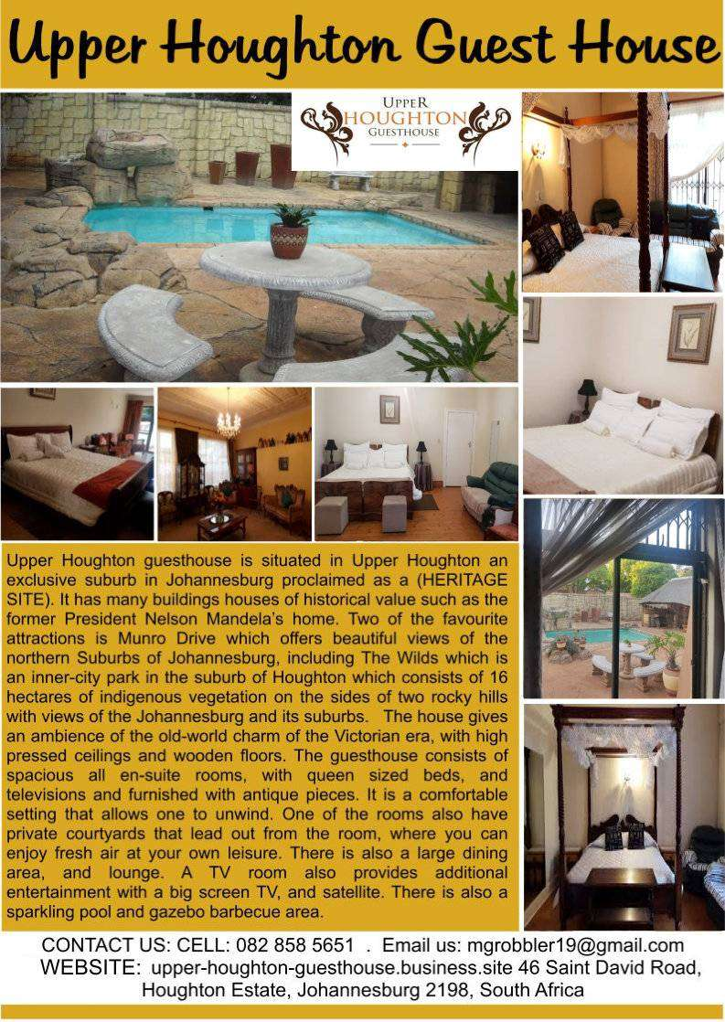 Upper Houghton Guesthouse 0