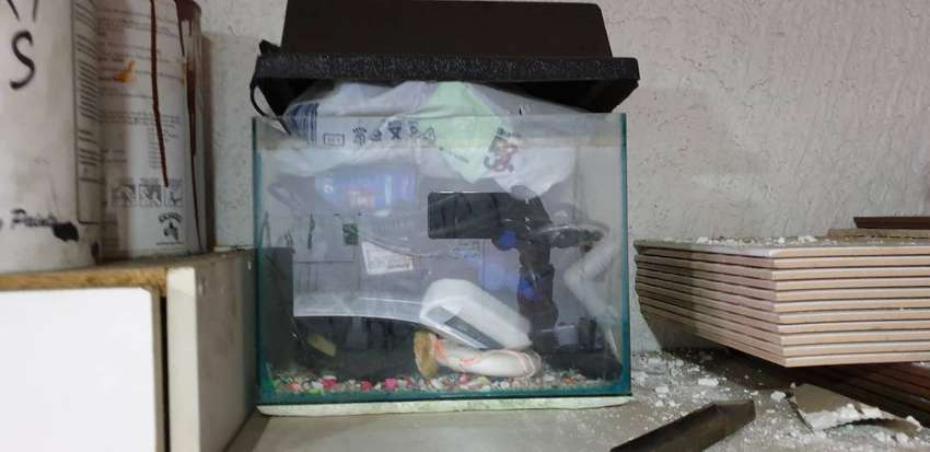 Fish tanks with lids 0