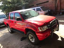 2002 TOYOTA HILUX DIESEL 3.0 KZ-TE DOUBLE CAB RAIDER MANUAL