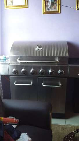 Alva lifes a gas nevada  outdoor gas stove for BBQ and Braai