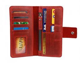 Кожаный женский кошелек портмоне натуральная кожа Sullivan
