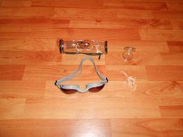 Okulary Do Pływania + Zatyczka Do Nosa