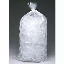 Normal ice...dry ice we do pre orders