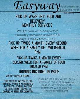 EASYWAYS LAUNDRY SERVICES