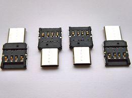 OTG USB C Adapter Przejściówka Smartfon Tablet Telefon Pendrive metal