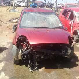 Ford fiesta stripping for parts at sheeraz auto spares