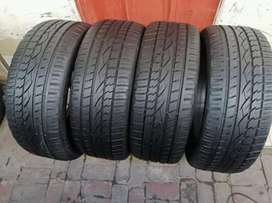 4 × 255/50/20 continental tyres for sale
