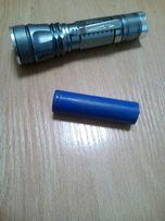 Аккумулятор Li-ion Slinr 18650 3.7V 2600mA для велосипедного фонаря.