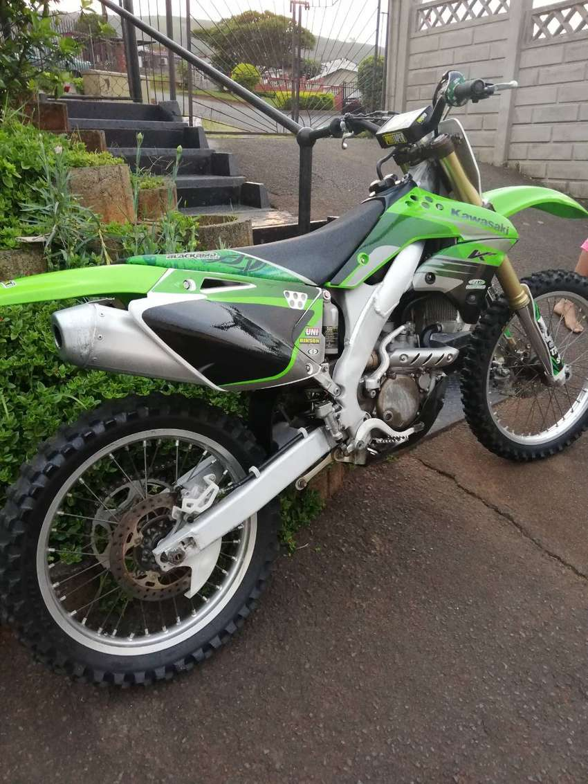 Kx250F kawasaki bike for sale 0