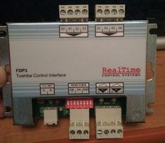 Інтерфейс керування Toshiba FDP3