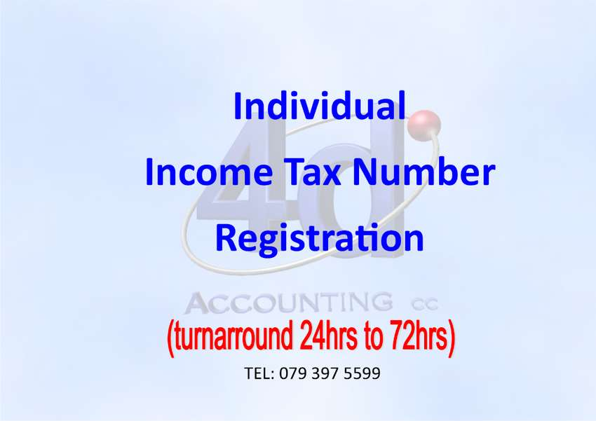 Income Tax Registrations 0