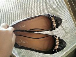 Туфли балетки 37размера 23.5см для девочки подростка