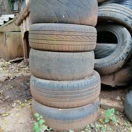 Assorted Car Tyres