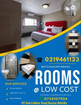 Self Catering Accommodation at a good low price.