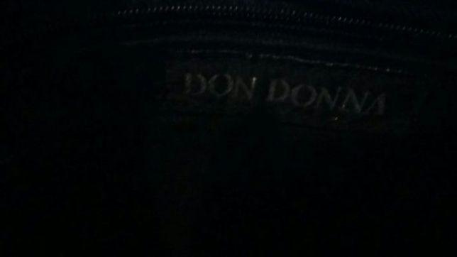 Czarna torebka damska Don Donna jak nowa Kraśnik - image 8
