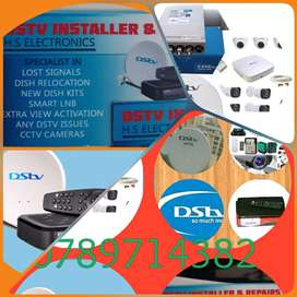 DSTV INSTALLER  REPAIRS AND LOST SIGNALS AND CCTV CAMERAS SUPPLY